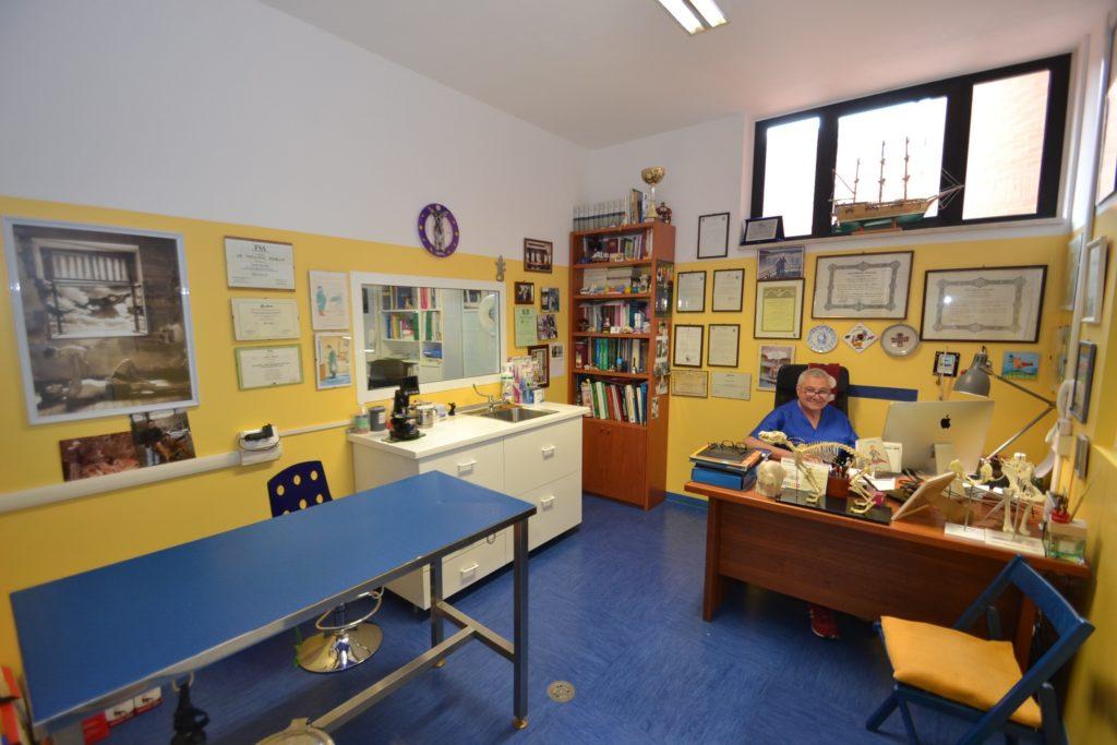 Ambulatorio 1 della Clinica Veterinaria Melosi - Cecina
