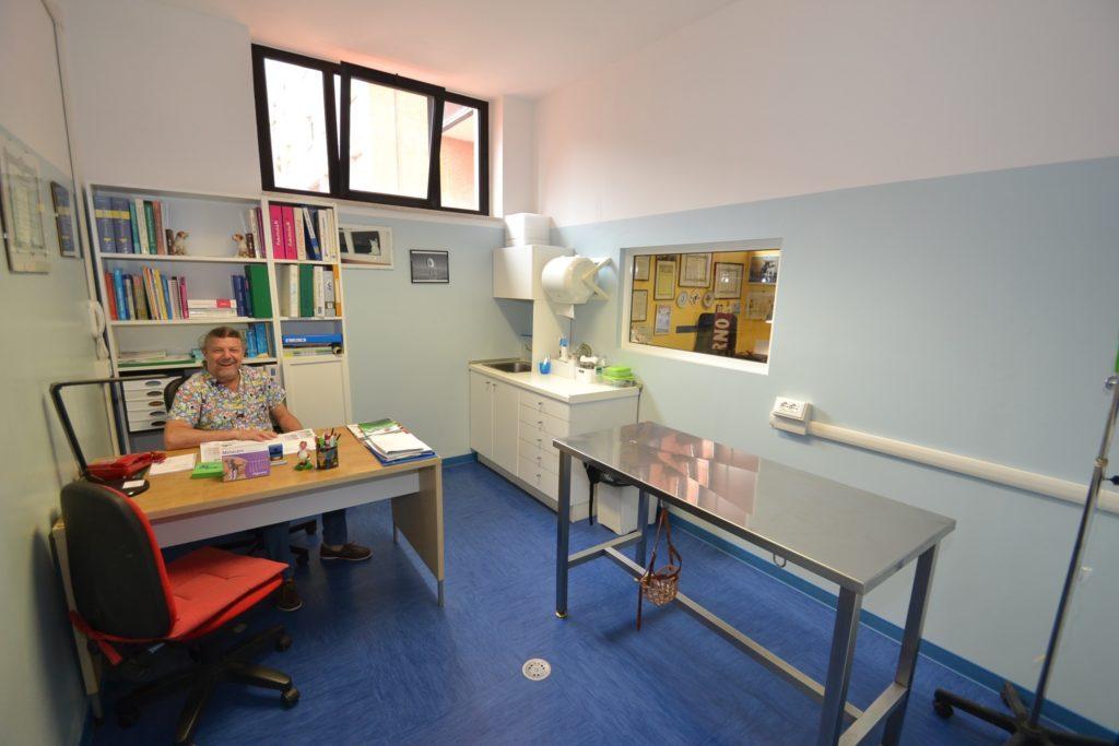 Ambulatorio 3 della Clinica Veterinaria Melosi - Cecina