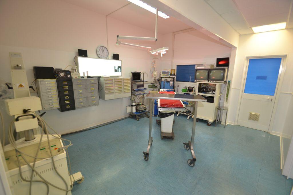 sala operatoria Clinica Melosi