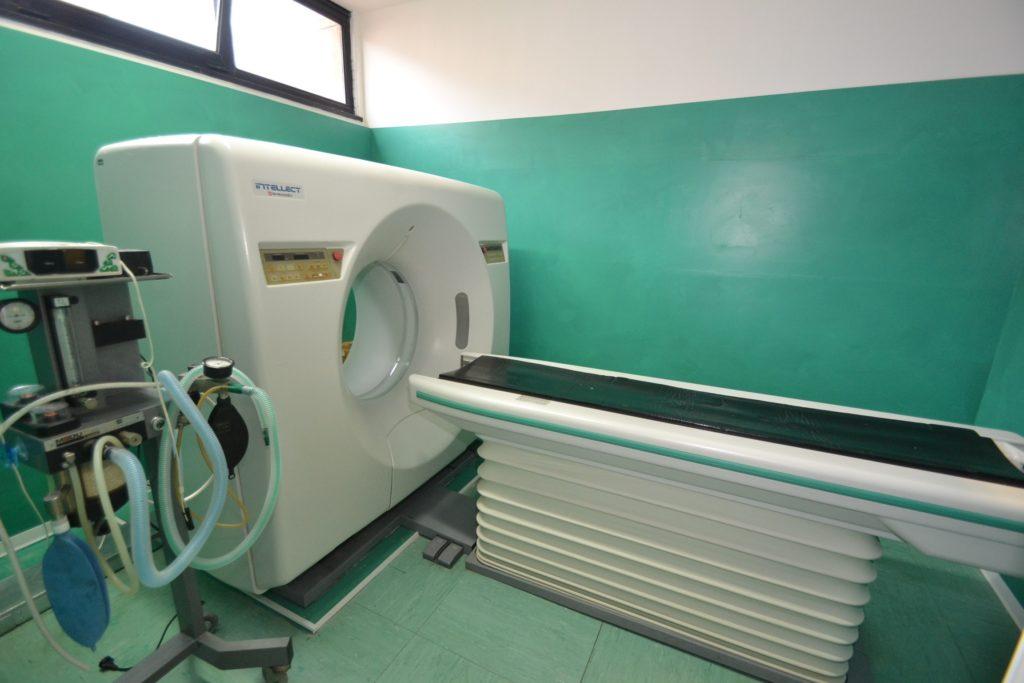 Tac della Clinica Veterinaria Melosi - Cecina